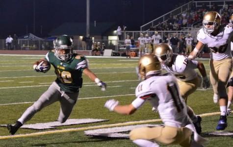 Cougars Let Sparks Fly On Senior Night Against Eagles
