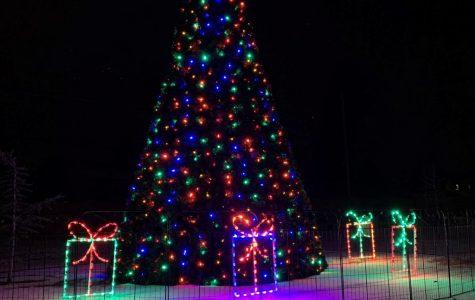Lighting of the Kearns Christmas Tree