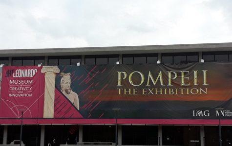 The Leonardo Erupts with Pompeii Exhibit