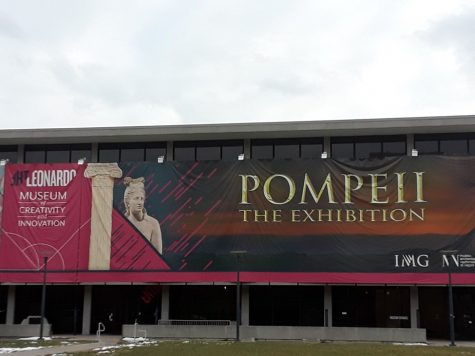 The Leonardo Erupts with Pompeii Exhibit